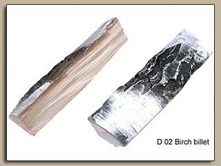 Керамическое полено D-02 (Береза)