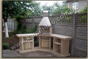 Садовый камин барбекю угловой электрические очаги камины печи современная кладка